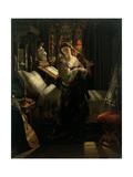 Madeline after Prayer, 1868 Giclée-tryk af Daniel Maclise