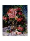 Roses, C.1879 Giclee Print by Pierre-Auguste Renoir