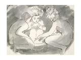 Children Round a Fire Reproduction procédé giclée par William Blake
