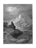 'The New Zealander' Illustration from 'London: a Pilgrimage' by Blanchard Jerrold, 1872 Lámina giclée por Gustave Doré