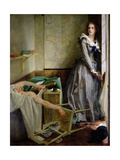Portrait of Charlotte Corday (1768-93), 1858 Giclee Print by Paul Baudry