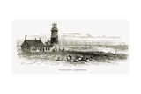 Nantucket Lighthouse, Massachusetts, C.1870, from 'American Pictures', Published by the Religious… Giclee Print
