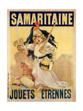 Poster Advertising Toys for Sale at 'La Samaritaine' ジクレープリント : フィルマン・ブイセ