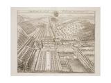 Dyrham Park, the Seat of William Blathwayt (C.1649-1717) Giclee Print by Johannes Kip
