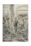 The Flagellation of Christ, C.1881 Reproduction procédé giclée par William Adolphe Bouguereau