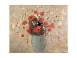 Vase of Poppies Giclee Print by Odilon Redon