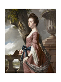 Mrs Frances Hesketh, C.1769 Giclee Print by Joseph Wright of Derby