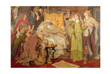 Cordelia's Portion, 1866-72 Giclee Print by Ford Madox Brown
