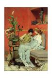 Confidences, 1869 Giclee Print by Sir Lawrence Alma-Tadema