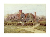 A Buckinghamshire House at Penstreet Lámina giclée por Helen Allingham