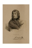 Portrait of Napoleon Bonaparte (1769-1821) Giclee Print by Francois Seraphin Delpech