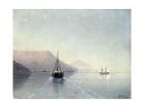 Calm, 1885 Giclée-tryk af Ivan Konstantinovich Aivazovsky
