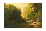 The Mountain Torrent, C.1820-30 Giclee Print by Francis Danby