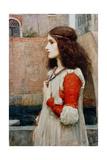 Juliet Gicléetryck av John William Waterhouse