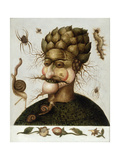 The Allegory of Earth Reproduction procédé giclée par Giuseppe Arcimboldo