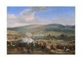 The Battle of the Boyne on 12th July 1690, 1690 Giclee Print by Jan Wyck