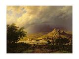 A Coming Storm Giclee-trykk av Barend Cornelis Koekkoek