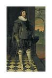 The Marquis of Hamilton (1589-1625) Lámina giclée por Daniel Mytens