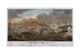 The Battle of Waterloo, 1815, 1817 Giclee Print