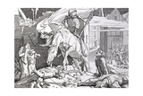 Death as Victor, from 'Another Dance of Death' Published by Georg Wigand in Leipzig, 1849 Giclee Print by Alfred Rethel