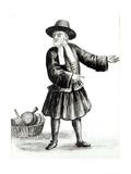The Merchant Giclée-Druck von Jan van Grevenbroeck