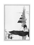 The Platonic Lament, Illustration from 'salome' by Oscar Wilde, 1894 Giclée-Druck von Aubrey Beardsley