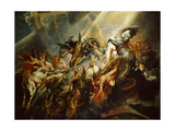 The Fall of Phaeton C.1604-08 Giclée-tryk af Peter Paul Rubens