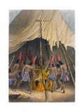 Dance to the Giant, 1853 Giclee Print by Seth Eastman
