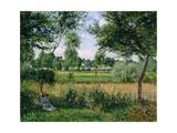 Morning, Sunlight Effect, Eragny, 1899 Reproduction procédé giclée par Camille Pissarro