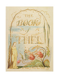 The Book of Thel, Plate 2 (Title Page), 1789 Lámina giclée por William Blake