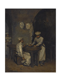 The Cooks Giclee Print by Auguste Theodule Ribot