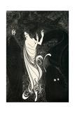 Third Tableau Illustration for Das Rheingold, Published in the Savoy, 1896 Giclée-vedos tekijänä Aubrey Beardsley