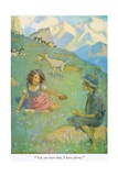 You Can Have That, I Have Plenty', Illustration from 'Heidi' Reproduction procédé giclée par Jessie Willcox-Smith