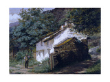 Easedale Cottage, 1882 Giclee Print by George Sheridan Knowles