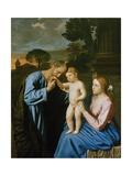 The Holy Family Giclee Print by  Giovanni Battista Salvi da Sassoferrato