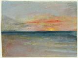Sky Study Giclée-tryk af J. M. W. Turner