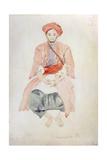 Fez Vendor, 1834 Reproduction procédé giclée par Eugene Delacroix