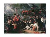 The Death of Nelson, 21st October 1805 Giclee-trykk av Benjamin West