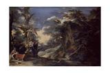 Jacob's Dream Giclée-tryk af Salvator Rosa