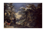Jacob's Dream Giclee Print by Salvator Rosa