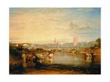 Walton Bridges Lámina giclée por J. M. W. Turner