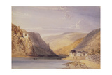 The Rhine at Assmannshausen Giclee Print by William Callow