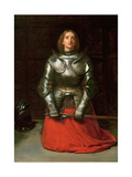 Joan of Arc, 1865 Giclee Print by John Everett Millais