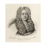 Philip Yorke, from 'Crabb's Historical Dictionary', Published 1825 Lámina giclée