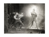 Hamlet, Act I, Scene IV, by William Shakespeare (1564-1616) Engraved by Robert Thew (1758-1802) Giclee Print by Henry Fuseli