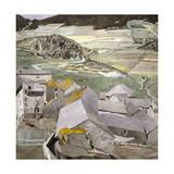The Village of La Lagonne Giclée-Druck von Charles Rennie Mackintosh