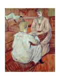 The Card Game, 1893 Lámina giclée por Henri de Toulouse-Lautrec