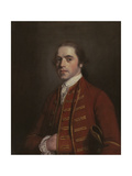 Portrait of a Gentleman, Thought to Be W. Penney, Early 1760s Giclée-tryk af Sir Joshua Reynolds