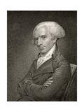 Elbridge Gerry, Engraved by James Barton Longacre (1794-1869) Giclée-Druck von John Vanderlyn