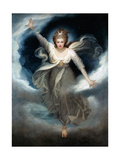 Georgiana as Cynthia from Spenser's 'Faerie Queene', 1781-82 Giclee-trykk av Maria Cosway